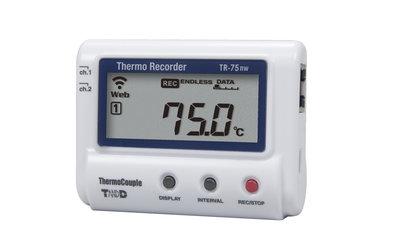 T&D TR-75nw LAN Temperatuurlogger