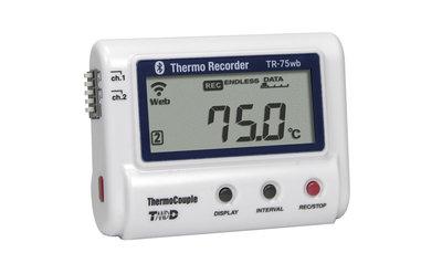 T&D TR-75wb Wifi+Bluetooth Temperatuurlogger
