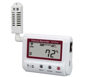 T&D TR-72nw LAN vocht + temperatuur logger