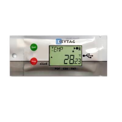 KeyTag Kt1LcdSU Temperatuur datalogger met display